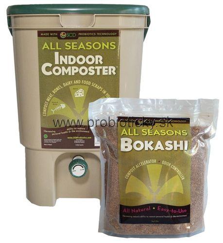 Komposter & Bokashi sada pro kompostování